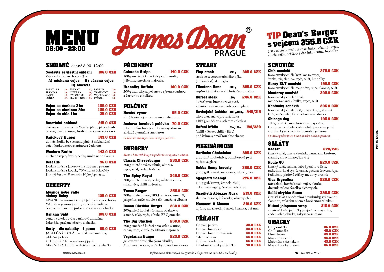 food menu cs